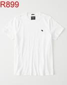 AF A&F Abercrombie & Fitch A & F 男 當季最新現貨 短袖T恤 AF R899