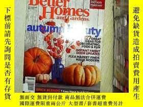 二手書博民逛書店Better罕見homes and gardens october2014 (14)Y203004