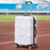 20寸登機行李箱男女24寸萬向輪拉桿箱皮箱韓版大容量旅行密碼箱子   koko時裝店   ATF