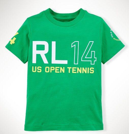 Ralph Lauren Polo短袖上衣 白色Logo圖案臂章綠色設計款短袖T恤