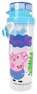 Peppa Pig 粉紅豬小妹 佩佩豬 小巧吸管水壺 500ml 藍 PP54851B