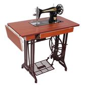 縫紉機 家用老式縫紉機飛人腳踏式手動縫紉機頭蜜蜂可電動吃厚衣車T 交換禮物