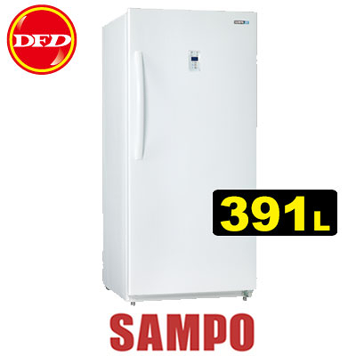 SAMPO 聲寶 SRF-390F 冷凍櫃 391L 電子式Micon控制 急凍功能 公司貨 ※運費另計(需加購)