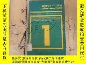 二手書博民逛書店electricity罕見volume-oneY252403 m