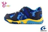 Moonstar 月星 玩耍系列 日本機能鞋 童趣鯊魚 中童 速乾運動鞋 I9645#藍色◆OSOME奧森鞋業