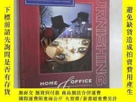 二手書博民逛書店HOME罕見OFFICE FURNISHING 96 97 共2