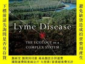 二手書博民逛書店Lyme罕見Disease: The Ecology Of A Complex System-萊姆病:復雜系統的生