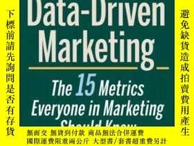 二手書博民逛書店Data-driven罕見MarketingY255562 Mark Jeffery Wiley 出版201