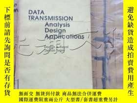二手書博民逛書店Data罕見transmission: Analysis, de