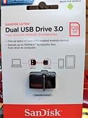 Sandisk 128GB ULTRA SDDD2 USB3.0 128G 雙用隨身碟 Android 安卓專用 OTG 備份 手機儲存碟 公司貨