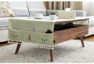 時尚可愛空間餐桌布 茶几布 隔熱墊 鍋墊 杯墊桌旗茶几布159 (客製商品)