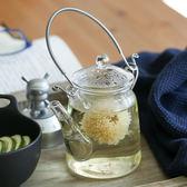 玻璃壺耐高溫家用耐熱透明玻璃大茶壺涼水壺過濾煮水壺加厚涼水壺【快速出貨八折優惠】
