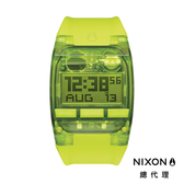NIXON COMP 運動電子錶 螢光綠
