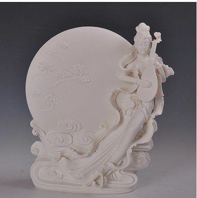 人物擺件 陶瓷工藝品 秋月妙香美人家居擺設