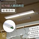 LED紅外線光控人體感應燈 智能夜燈 磁吸式安裝免佈線 櫥櫃燈 衣櫃燈【ZB0103】《約翰家庭百貨