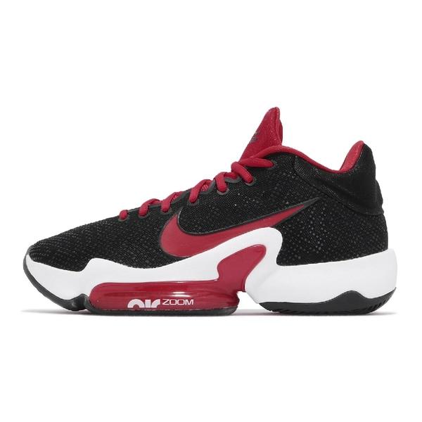 【海外限定】Nike 籃球鞋 Zoom Rize 2 黑 紅 前掌外露氣墊 男鞋【ACS】 CT1495-003