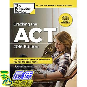 [美國直購] Cracking the ACT with 6 Practice Tests, 2016 Edition (College Test Preparation)