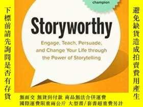 二手書博民逛書店罕見StoryworthyY256260 Matthew Dicks New World Library 出