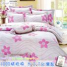 雙人床罩組 六件式 100%精梳棉 雙人5*6.2 台灣製造 Best寢飾 6818
