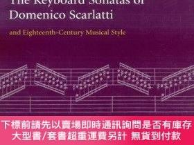 二手書博民逛書店The罕見Keyboard Sonatas Of Domenico Scarlatti And Eighteent