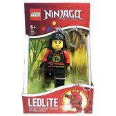 《 樂高積木 LEGO 》忍者人型 LED 燈鑰匙圈 - 妮雅  ╭★ JOYBUS玩具百貨