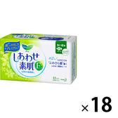 日本Kao花王 無香料 舒膚Free衛生棉 日用 22.5cm(22枚入✕18包)