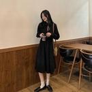 禮服 法式小禮服輕奢小眾高端平時可穿年會戰袍新年過年連衣裙子女春【快速出貨八折下殺】
