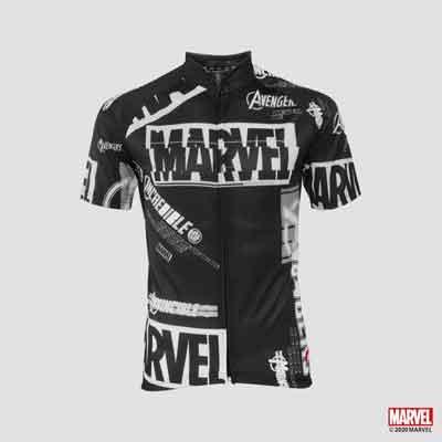 【官方授權】MARVEL漫威 滿版設計 車衣 自行車衣服 運動服飾 彈性機能 排汗衣 [M191684]