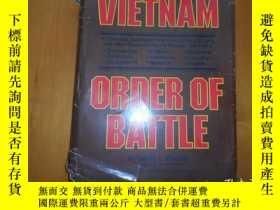 二手書博民逛書店《Vietnam罕見Order of Battle》美國越南戰爭