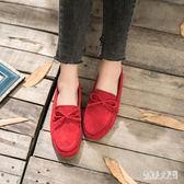 豆豆鞋 女平底單鞋2019春季牛筋軟底休閒懶人孕婦鞋媽媽平跟瓢鞋 FR7074『俏美人大尺碼』