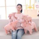 【40公分】仿真立體豬抱枕 小豬公仔 絨毛娃娃 聖誕節交換禮物 情人節 生日禮物