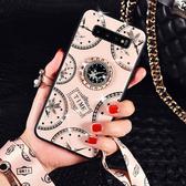 三星 S10 Plus 手機殼 時尚 全包軟邊 掛繩 支架 指環防摔 保護殼 保護套 手機套 創意指環 S10 S10+