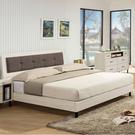【采桔家居】羅迪斯 時尚6尺亞麻布雙人加大床片床台組合(不含床墊)
