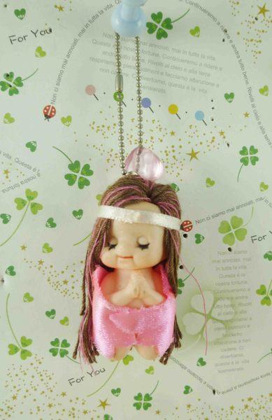 【震撼精品百貨】Q比_Kewpie~鎖圈-桃女神