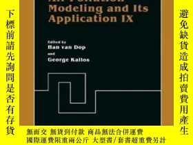 二手書博民逛書店Air罕見Pollution Modeling And Its Application Ix (nato Chal