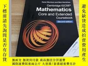 二手書博民逛書店《罕見Mathematics Core and Extended