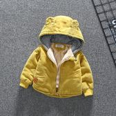 寶寶冬裝0一1歲3嬰兒童秋冬棉衣加厚燈芯絨外套2018新款2男童棉服『輕時光』