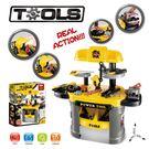 *粉粉寶貝玩具*新款仿真維修修理工具桌~小小工程師維修工具台玩具組
