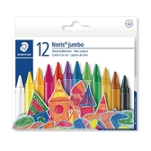 施德樓 MS229 快樂學園加寬型兒童無毒油蠟筆12色組