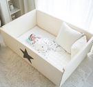 里和家居 l GGUMBI DreamB 韓國多功能圍欄地墊式嬰兒床-大星星 圍欄 遊戲床 地墊