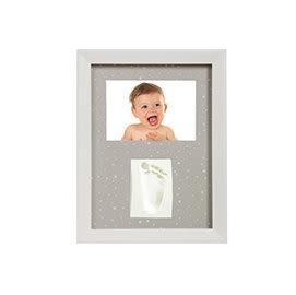 iae創百市集 Adora珍愛回憶系列 寶寶手足模印相框(極簡壁掛型)