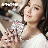 IPHONE 7/7 PLUS/6.6S/6.6S PLUS 鱷魚紋雷射幻彩變色全包手機殼【CAS77】