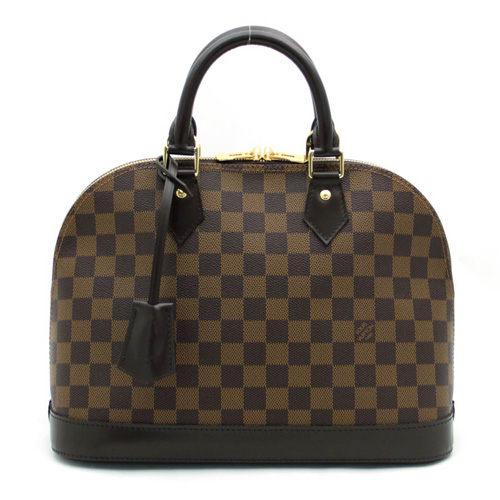 Louis Vuitton LV N53151 ALMA 新版棋盤格紋手提艾瑪包(中) 全新 預購【茱麗葉精品】