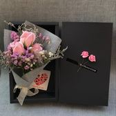 生日禮物女生友情閨蜜韓國創意送女友特別的玫瑰香皂花束禮盒 【快速出貨八五折鉅惠】