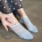 【好康618】舒工坊襪子女船襪夏季薄款防滑硅膠日系