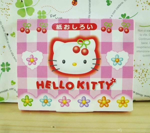 【震撼精品百貨】Hello Kitty 凱蒂貓-KITTY吸油面紙-櫻桃圖案