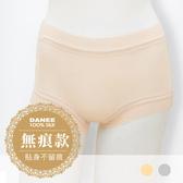 【岱妮蠶絲】AA2309G純蠶絲42針90G古典蕾絲中高腰平口內褲