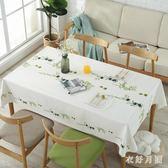 歐式pvc餐桌布藝茶幾桌布防水防燙防油免洗長方形 WD1217【衣好月圓】