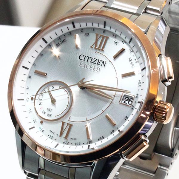 【萬年鐘錶】Citizen EXCEED Eco Drive光動能 衛星 GPS定位對時  限量鈦金屬款   CC-3054-55A