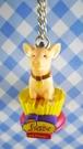 【震撼精品百貨】日本精品百貨-手機吊飾/鎖圈-波比豬系列-坐
